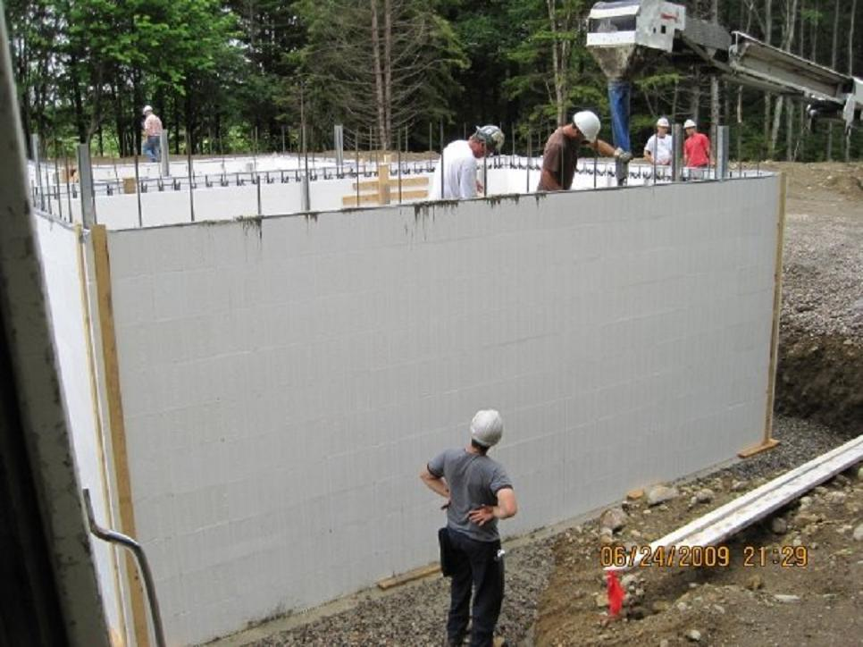 Projects spec resources inc for Icf basement