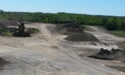 Gravel piles with screener in bkgd – cropped